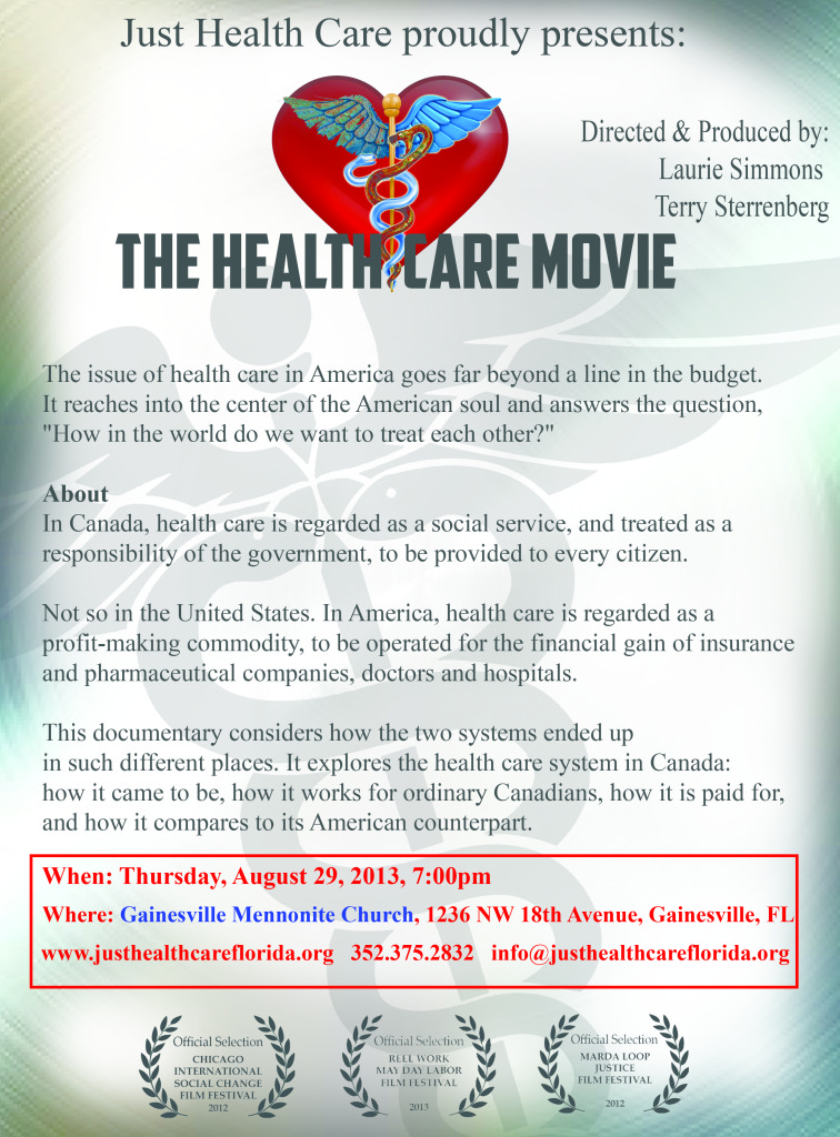 healthcaremovieflier