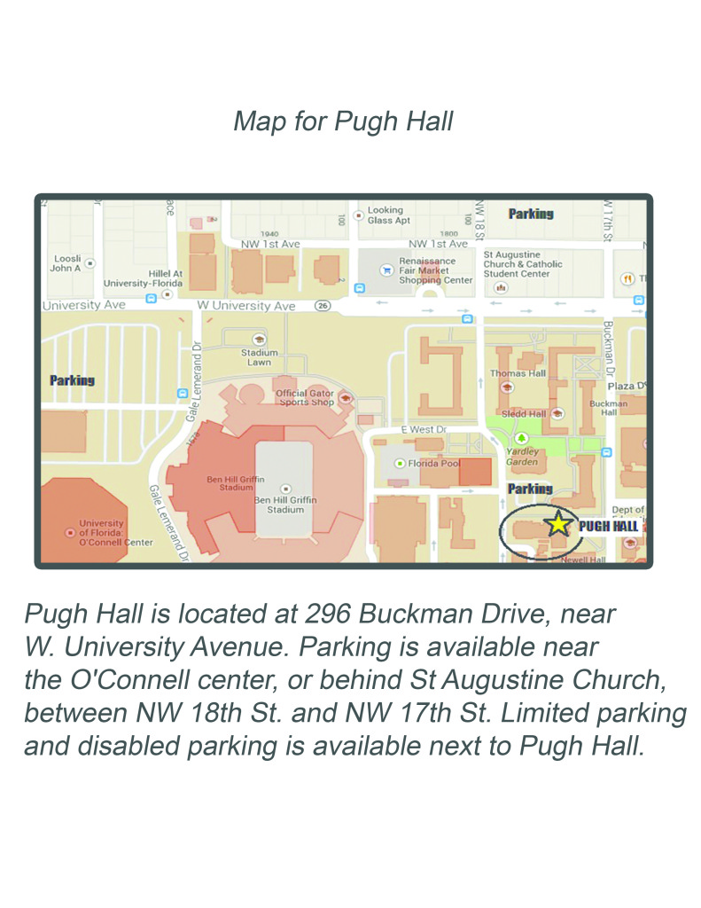 Map of University of Florida